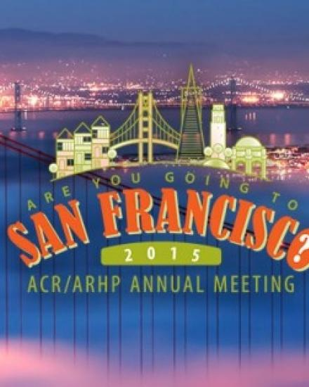 ACR - Congreso anual de la ACR San Francisco, Estados unidos | www