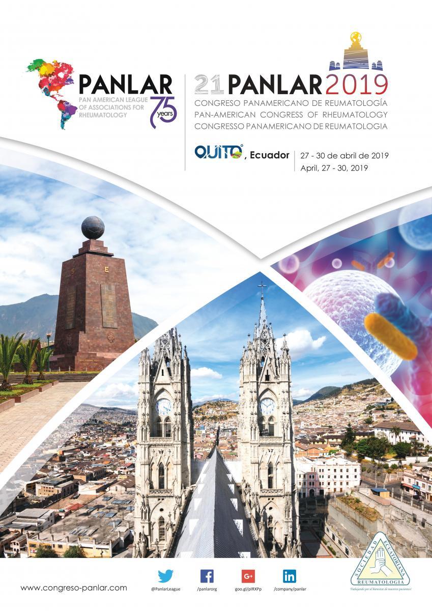 Congreso Panamericano de Reumatología 2019 | www panlar org
