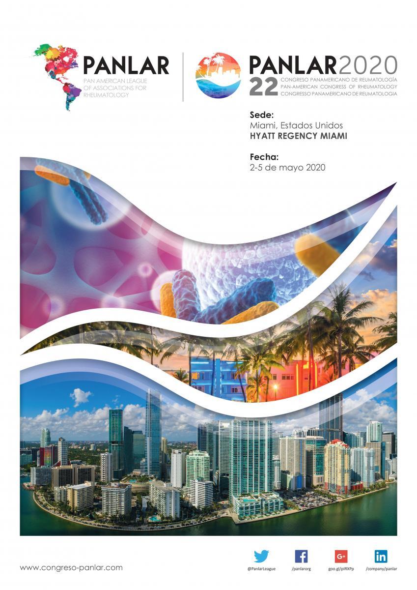 Congreso Panamericano de Reumatología 2020 | www panlar org